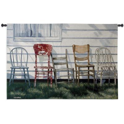 Гобелен Ряд стульев