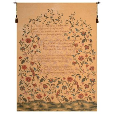 Купить Гобелен Французская поэма и птицы