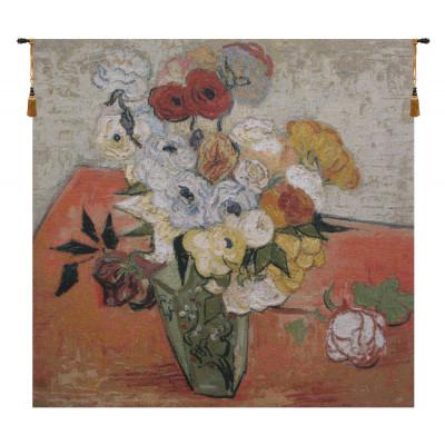 Гобелен Розы и анемоны (Ван Гог)