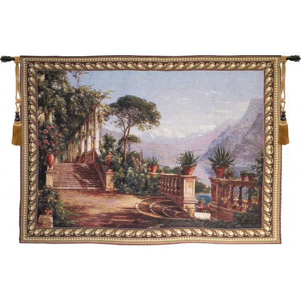 Купить Гобелен Терраса с видом на озеро