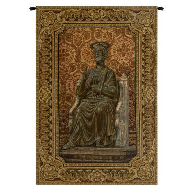Купить Гобелен Бронзовая статуя Святого Пьетро