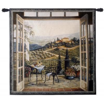Гобелен Балкон с видом
