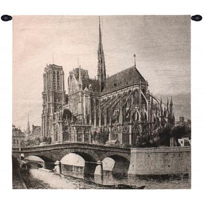 Купить Гобелен Гравюра Церковь