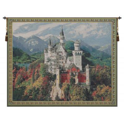 Купить Гобелен Замок Нойшванштайн (Синий)