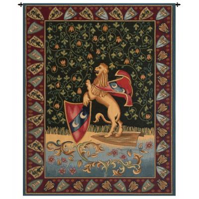 Купить Гобелен Средневековый  лев