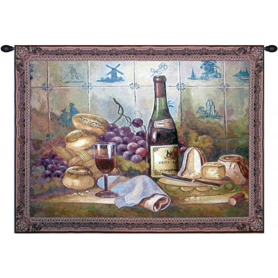 Гобелен Виноград и хлеб