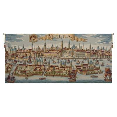 Купить Гобелен Древняя карта Венеции