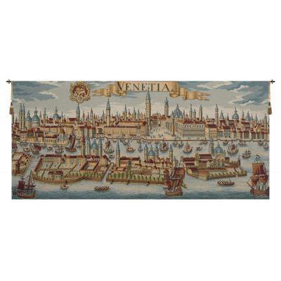 Гобелен Древняя карта Венеции