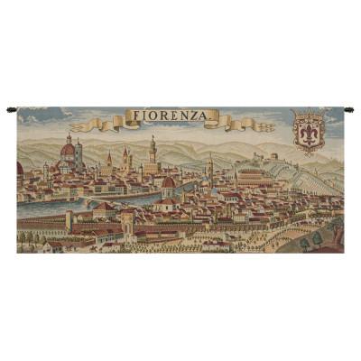Купить Гобелен Древняя карта Флоренции