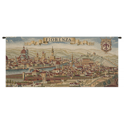Гобелен Древняя карта Флоренции