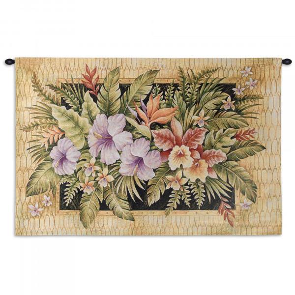 Купить Гобелен Тропические цветы