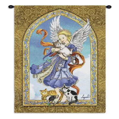 Купить Гобелен Ангел и кошки
