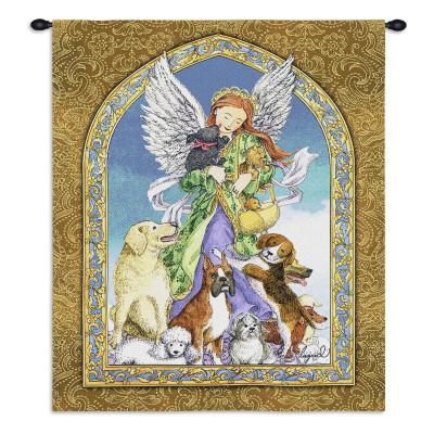 Купить Гобелен Ангел и собаки