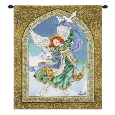 Купить Гобелен Ангел и голуби