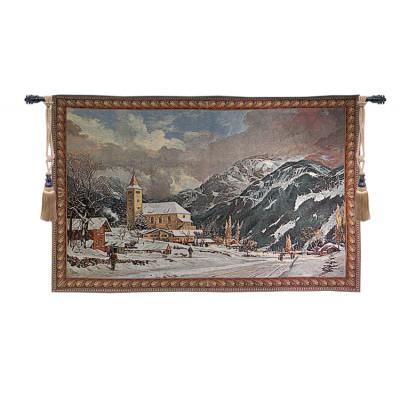 Купить Гобелен Альпийская деревня