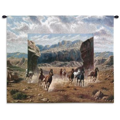 Купить Гобелен Бегущие лошади