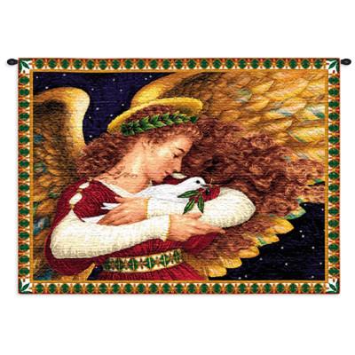 Гобелен Ангел и голубь