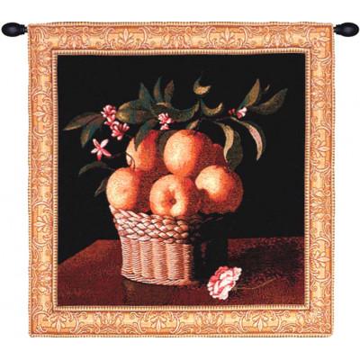 Гобелен Корзина с апельсинами
