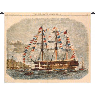 Купить Гобелен Античный корабль