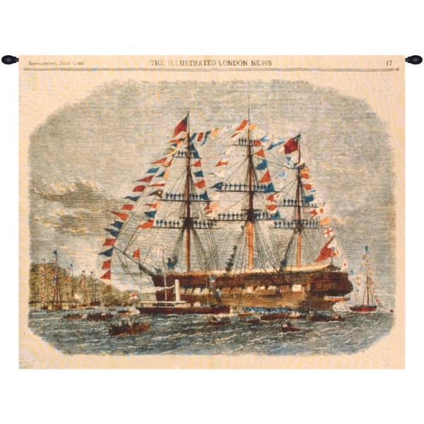 Гобелен Античный корабль