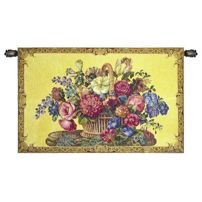 Купить Гобелен Цветочная корзина (желтый)