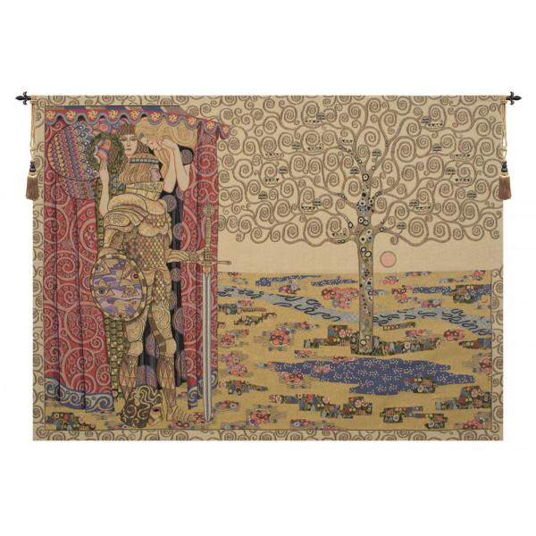 Гобелен Рыцарь и дерево жизни