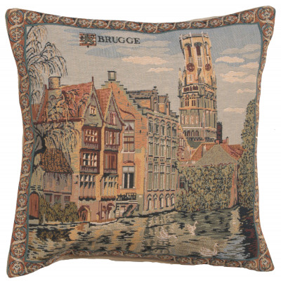 Подушка декоративная Каналы Брюгге
