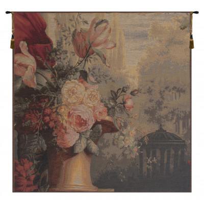 Гобелен Киоск и цветы