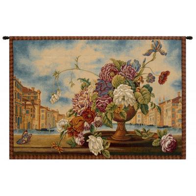 Купить Гобелен Венецианский балкон с цветами