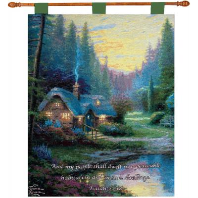 Купить Гобелен Деревянный домик