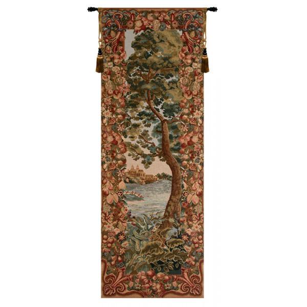 Купить Гобелен Пейзаж замка в листве (Слева)