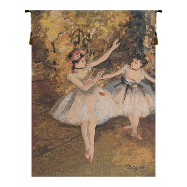 Гобелен Два танцора (Дега)
