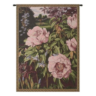 Гобелен Розовые пионы