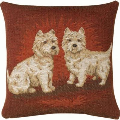 Две собаки (темная)