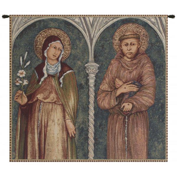 Гобелен Святого Франциска и Святой Клэр