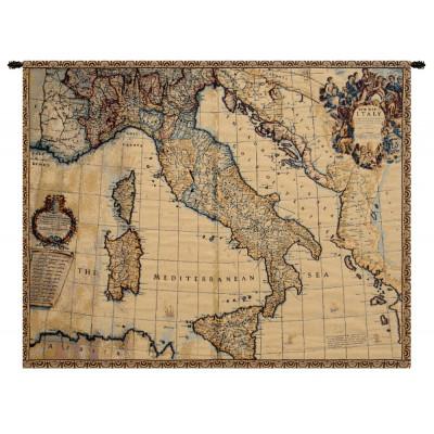 Гобелен Древняя карта Италии