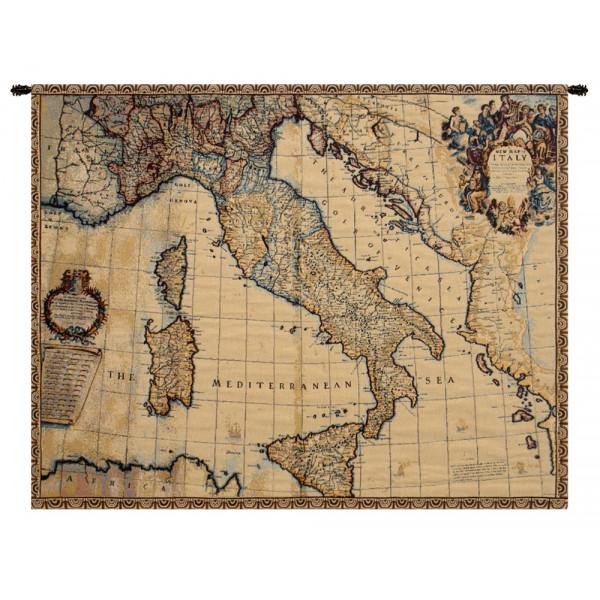 Купить Гобелен Древняя карта Италии