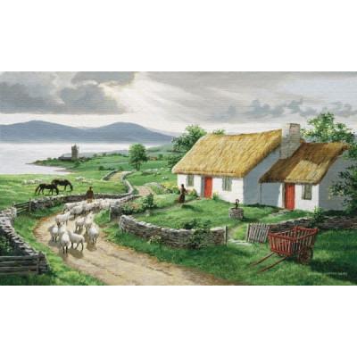 Купить Гобелен Ирландская деревня Grande