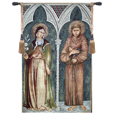 Купить Гобелен Святой Франциск и Святой Клэр II