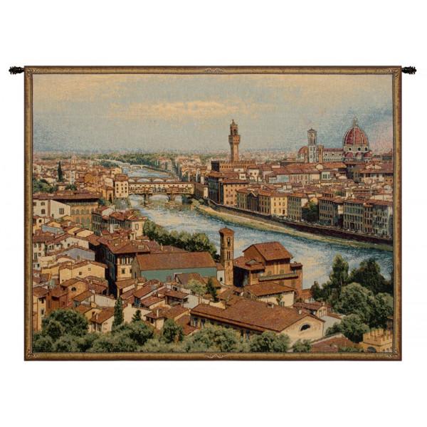 Купить Гобелен Вид Флоренции и Арно