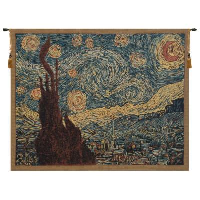 Гобелен Звездная ночь (Ван Гог)