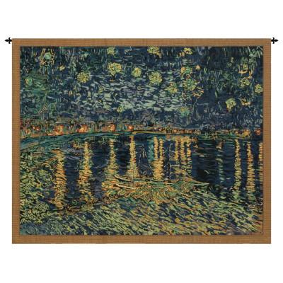 Купить Гобелен Звездная ночь над Роной (Ван Гог)