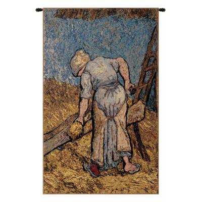 Гобелен Уборка льна (Ван Гог)