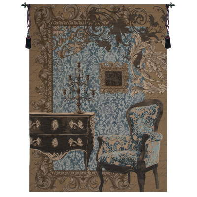 Гобелен Коллекция Людовика XVI синий