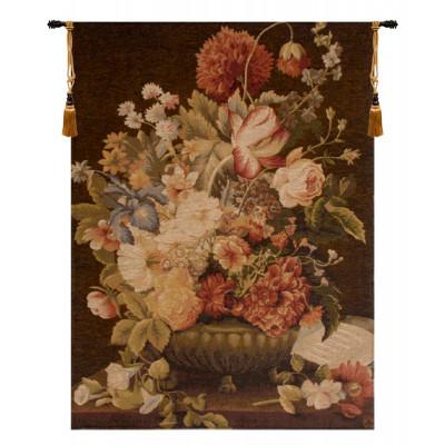 Купить Гобелен Букет с тюльпаном (корич)