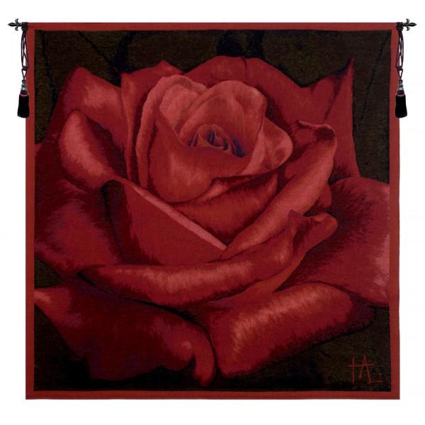 Гобелен Роза (красный)