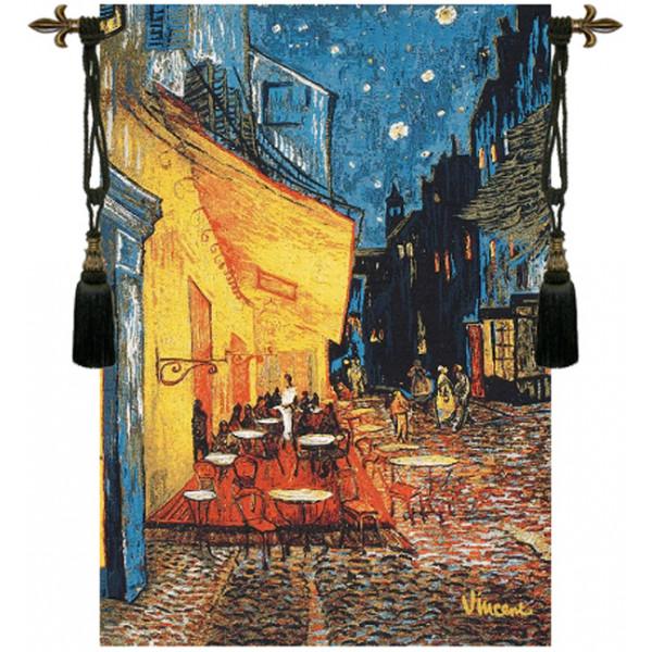 Купить Гобелен Кафе терраса в ночи (Ван Гог)