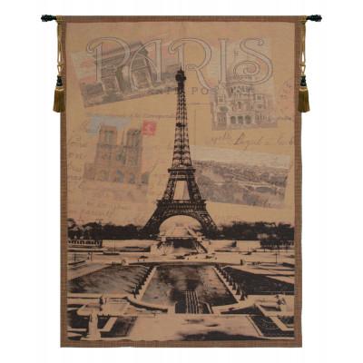 Гобелен Вид Парижа