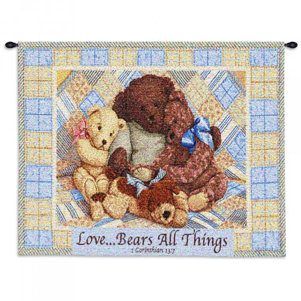 Купить Гобелен Медвежья любовь