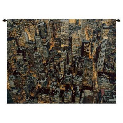 Гобелен Нью-Йорк ночь